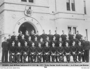 BOANAS, Jack William Robinson - Service Number 417331 | 1WAGS Ballarat