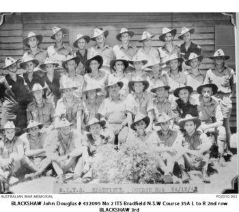 BLACKSHAW, John Douglas - Service Number 432095 | 1WAGS Ballarat