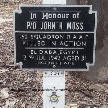 MOSS, John Henry - Service Number 406047 | 1WAGS Ballarat