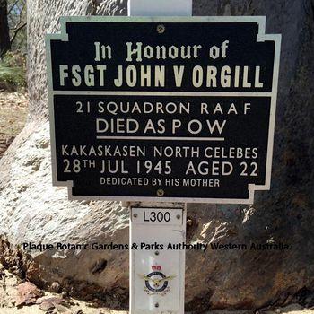 ORGILL, John Victor - Service Number 441469 | 1WAGS Ballarat