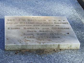 BALFOUR, John William - Service Number 407840 | 1WAGS Ballarat