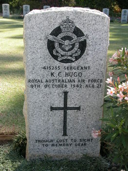 HUGO, Kenneth Colin - Service Number 415255 | 1WAGS Ballarat