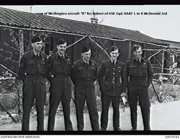 McDONALD, Kenneth Stewart - Service Number 400351 | 1WAGS Ballarat