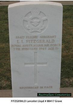 FITZGERALD, Lancelot Lloyd - Service Number 88417 | 1WAGS Ballarat