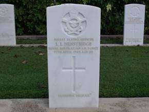 HENSTRIDGE, Leslie Lancedene - Service Number 416497 | 1WAGS Ballarat