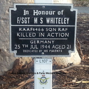 WHITELEY, Maitland Shackson - Service Number 415563 | 1WAGS Ballarat