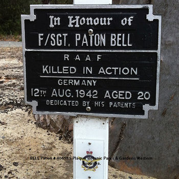 1WAGS - BELL Paton - Service Number 406589 (Plaque_edited-1)