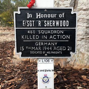 SHERWOOD, Raymond Collard - Service Number 427559 | 1WAGS Ballarat