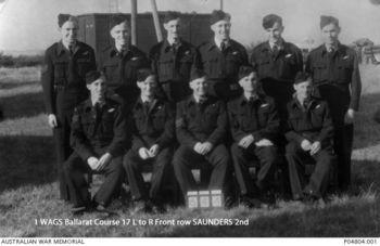 SAUNDERS, Raymond Kenneth - Service Number 406814 | 1WAGS Ballarat