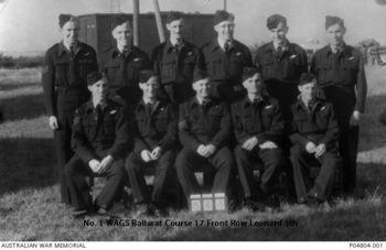 LEONARD, Raymond  Haines - Service Number 416436 | 1WAGS Ballarat