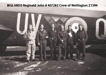BIGLANDS, Reginald John - Service Number 407282 | 1WAGS Ballarat