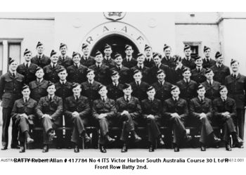 BATTY, Robert Allan - Service Number 417784 | 1WAGS Ballarat