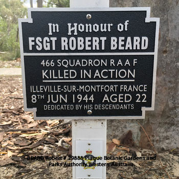 BEARD, Robert - Service Number 29888 | 1WAGS Ballarat