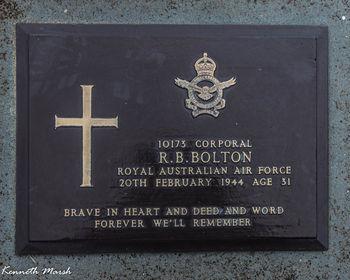 BOLTON, Robert Burns - Service Number 10173 | 1WAGS Ballarat