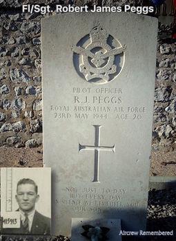 PEGGS, Robert James - Service Number 415913 | 1WAGS Ballarat
