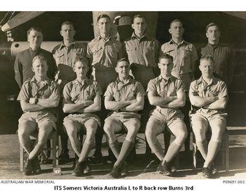 BURNS, Robert John - Service Number 407524 | 1WAGS Ballarat
