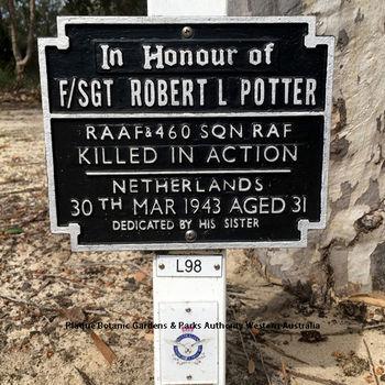 POTTER, Robert Lincoln - Service Number 406680 | 1WAGS Ballarat