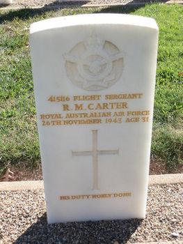 CARTER, Robert Maxwell - Service Number 415116 | 1WAGS Ballarat