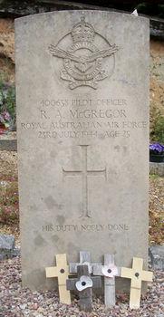 McGREGOR, Ronald Angus - Service Number 400658 | 1WAGS Ballarat