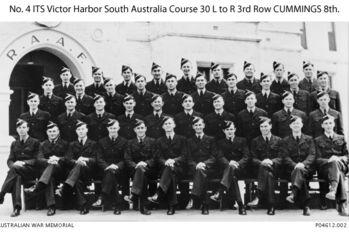 CUMMINGS, Ronald Irving - Service Number 417812 | 1WAGS Ballarat