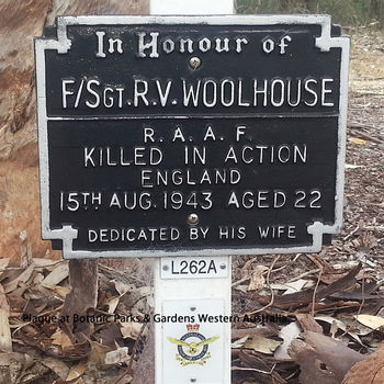 WOOLHOUSE, Ross Vivian - Service Number 415748 | 1WAGS Ballarat