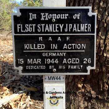 PALMER, Stanley John Fielding - Service Number 415677 | 1WAGS Ballarat