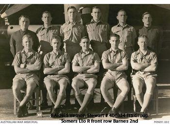 BARNES, Vernon Stewart - Service Number 406324 | 1WAGS Ballarat