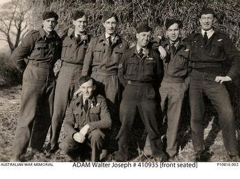 ADAM, Walter Joseph - Service Number 410934 | 1WAGS Ballarat