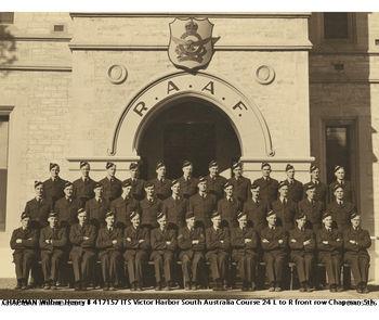CHAPMAN, Wilbur Henry - Service Number 417157 | 1WAGS Ballarat