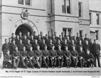 SHAPCOTT, Wilfred - Service Number 419503 | 1WAGS Ballarat