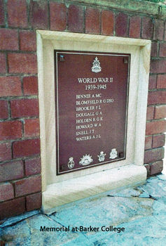 HOWARD, William Alan - Service Number 42857 | 1WAGS Ballarat
