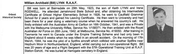 LYNN, William Archibald - Service Number 419050 | 1WAGS Ballarat