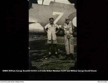 BINNIE, William George Ronald - Service Number 43192 | 1WAGS Ballarat